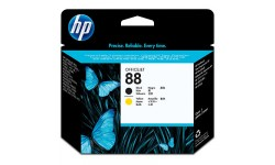 HP 88 BK & Y, Originalt Printhoved