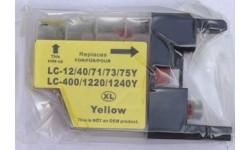 LC 1240XL Yellow, kompatibel patron
