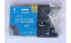 LC 1280XXL Cyan, Kompatibel patron