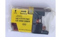 LC 1280XXL Yellow, Kompatibel patron